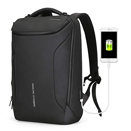 Backpack, MR, Waterproof, 3D Technology, High Capacity, USB Design with Compass, Multi-Layered Laptop backpack