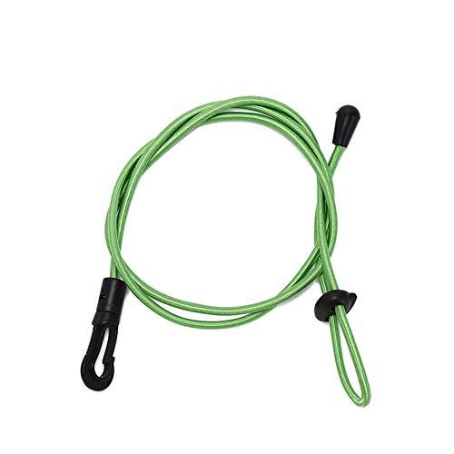 JoyFan Kajak, der Paddel-Schnur, Universal Verstellbarer elastischer Federelement-Stoßdämpfer-Schnur-Bügel-Ausdehnungs-Plastikhaken-Gepäck-Zelt-Kajak-Boots-Kanu-Fahrrad-Seil-Krawatte bindet