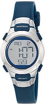 Armitron Sport Women s 45/7012NVSV Digital Watch with Matte Navy Strap