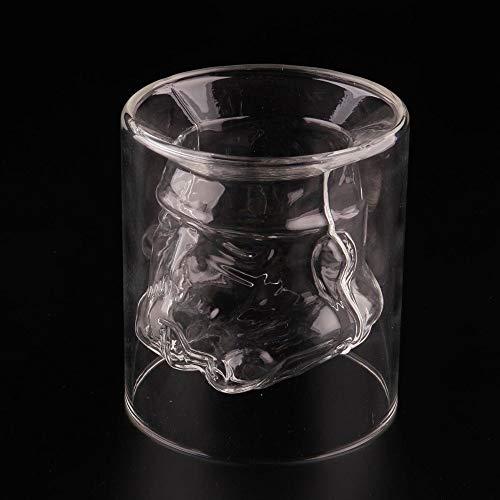 HUANGRONG Jarra de Cerveza Transparente Shoot Star Wars Stormtrooper de Cristal Copa de Cristal Vaso de coñac Whisky de Cristal Copa Vaso Bar Ware for los Regalos de 150ml (Capacity : 150ml)