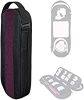 SIDE BY SIDE_POWER PACKER Travel Tech Pouch Organiser - Electronics & Cord Case - Cables & EDC Gear Bag (Bordeaux)