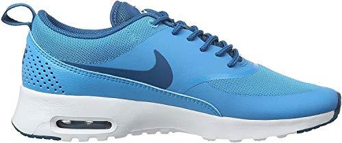 Nike Damen WMNS Air Max Thea Fitnessschuhe, Blau Blau Lagune Grün Abgrund Weiß, 35.5 EU