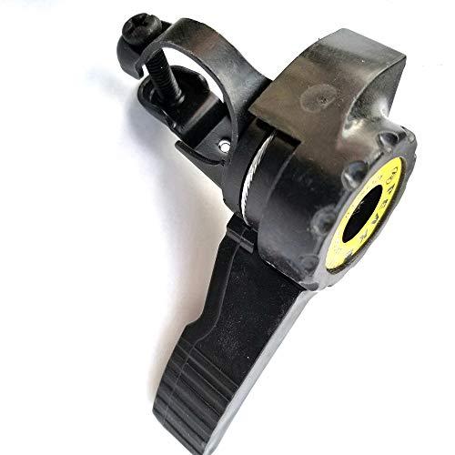 1 Pareja de desviador de Bicicletas Conjunto con 3x5 / 6/7 velocidades MTB MTB Thumb Thumb Shifter de Caucho MaterialMount Cambios adecuados para carriles de Bicicleta General