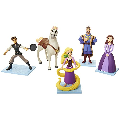 Disney Prinzessinnen - Rapunzel - Neu verföhnt Figuren Set