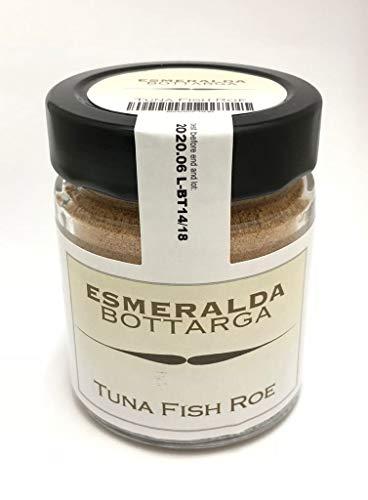 Bottarga Esmeralda Geriebener Thunfisch aus Sardinien 70 g im Glas - Mittelmeer Kaviar - koscher