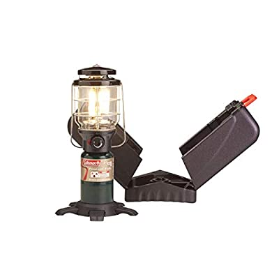 Coleman Deluxe PerfectFlow Propane Lantern with Hard Carry Case