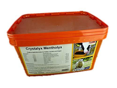 Crystalyx Mentholyx Ergänzungsfuttermittel für Schafe Ziegen Kälber 22,5kg