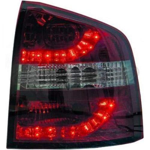 in. pro. 7831996 haute définition à LED Feux arrière, Rouge Transparent