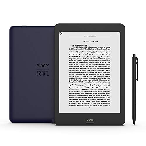 BOOX Nova Pro 7.8 ePaper E-Reader, Front Light, Flush Glass Screen, 2G 32G Support Upgrade to Android 9 Soon