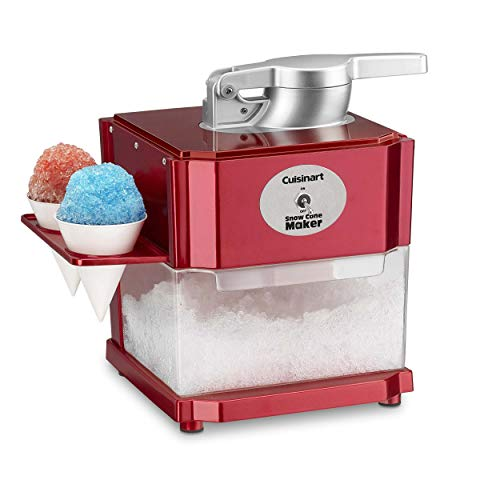 Cuisinart SCM-10 Snow Cone Maker, Red (Renewed)