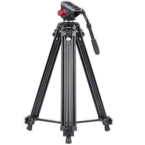 Andoer Professional Video Tripod System-67 Inch Professional Heavy Duty...