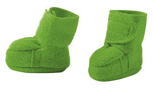 Disana Baby Walkschuhe aus 100% Merino-Schurwolle (1/4-8 Monate, grün)