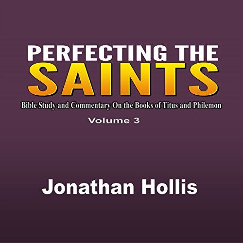 Perfecting the Saints cover art