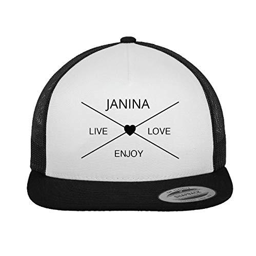 JOllify JANINA Trucker Cap Kappe Mütze – Design: Hipper Hipster