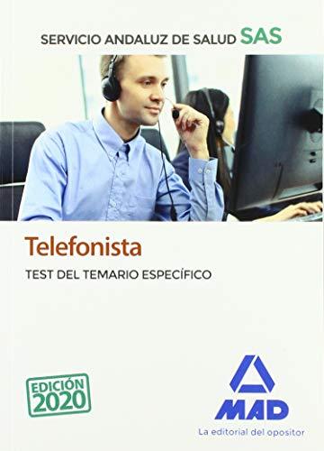 Telefonista del Servicio Andaluz de Salud. Test del temario específico