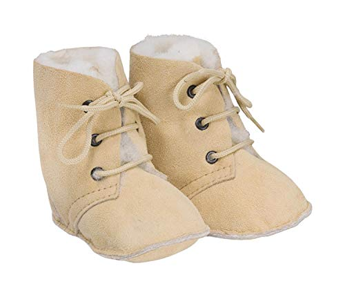 Baby Lammfellstiefel Maxi beige ökologisch Gr.18
