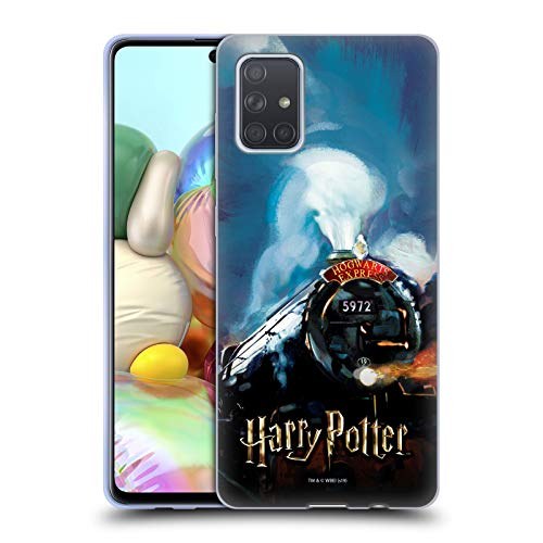 Head Case Designs Offizielle Harry Potter Hogwarts Express Prisoner of Azkaban II Soft Gel Huelle kompatibel mit Samsung Galaxy A71 (2019)