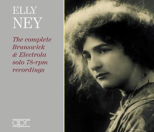 Die Brunswick & Electrola solo 78-rpm Aufnahmen
