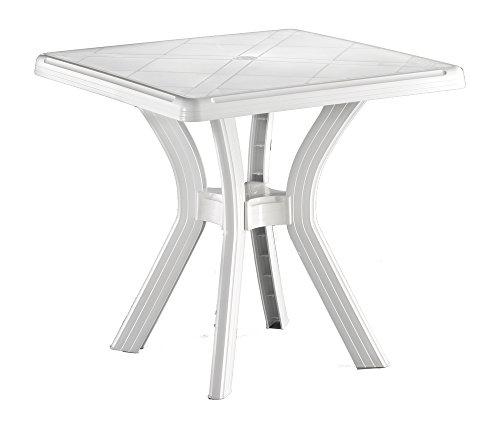LI.G Tavolino Quadrato in Resina, Unica