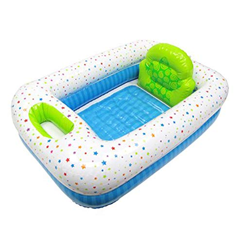 Parents Choice Inflatable Safety Bathtub for Home or Travel