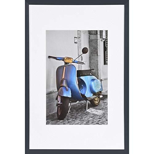 Henzo Umbria 30x45 Frame WP Schwarz Cornice portafoto, Legno, Nero, 30x45 cm