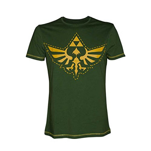 T-shirt 'The Legend of Zelda' - Logo - vert - Taille L