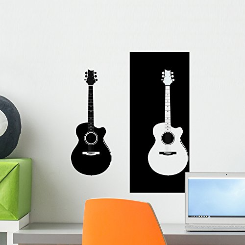 Acoustic Guitar Wallmonkeys Graphic WM364877