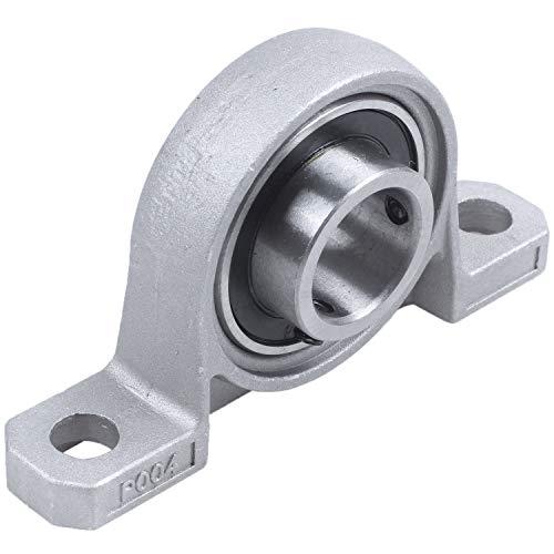Cuasting Diámetro interior de acero de 20 mm, ajustable, cojinete de bolas de bloque de almohada
