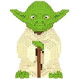 Puzzle 3D Kits De Construcción De Arquitectura De Juguetes Regalo para Niños Y Adultos Rompecabezas 3D Kit De Construcción DIY con Folleto- Master Yoda