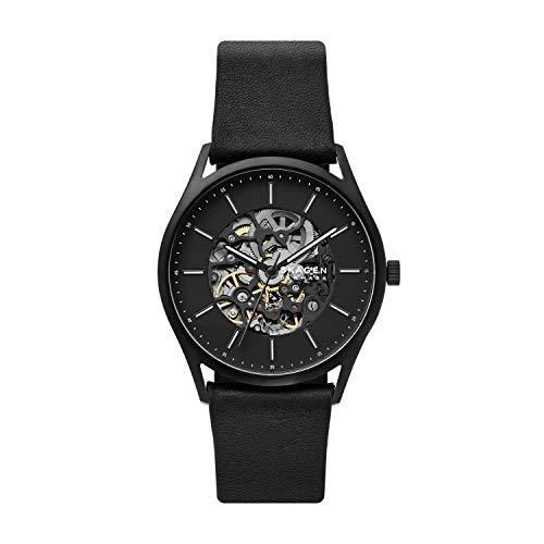 Skagen Analog Black Dial Men's Watch-SKW6580