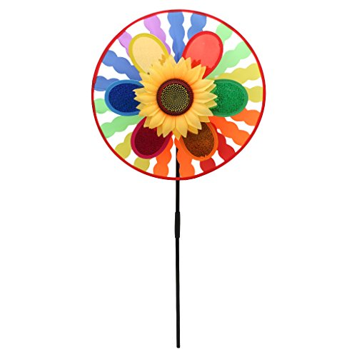 Lergo Windmühle Windspiel Whirligig Home Yard Party Dekoration Kinder Spielzeug