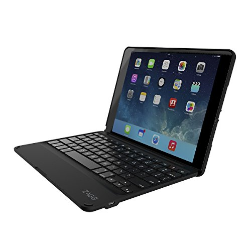 ZAGG Folio Case, Hinged with Bluetooth Keyboard for iPad Air 2 - Black