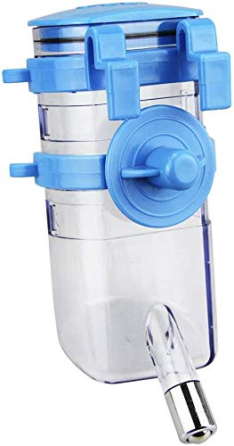 Iywish Dog Water Bottles Portable Cat Puppy Pet Water Bottle Pet Drinking Fountain Hanging No Drip Water Bottle Dispenser Kettle Automatically Feeding Water Dog Travel Water Bottle Bowl Feeder Holder