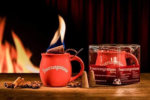 Feuerzangentasse 1er-Set, Rot - für Feuerzangenbowle
