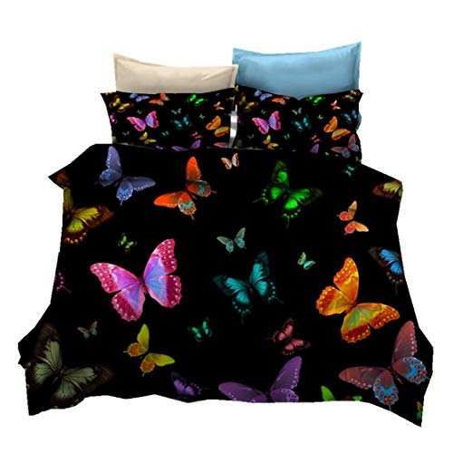 Bettbezug Schmetterling Mikrofaser Kleidung Ca...