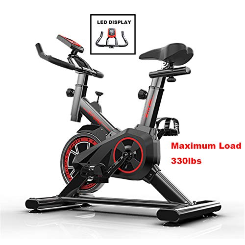 Exercise Cycling Bike,Indoor Fitness Bike,Adjustable Professional Exercise Bike with LCD...