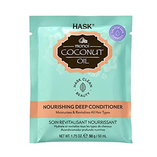 Hask Monoi Olio di Cocco Nutriente Condizionatore Profondo 50 g