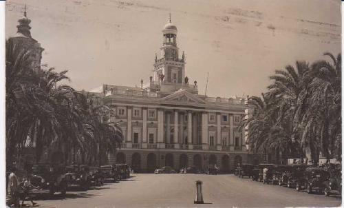 Postal Antigua - Old Postcard : Cádiz - Ayuntamiento