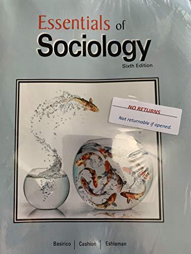 Essentials of Sociology 6th Edition