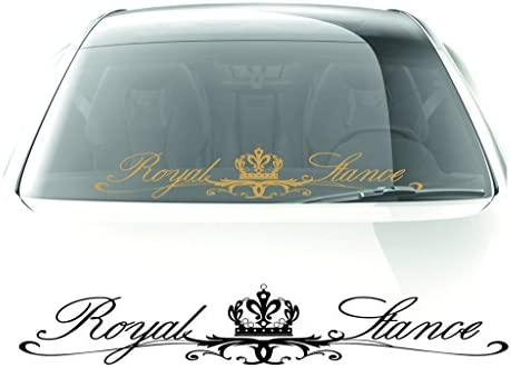 Royal stance stickers