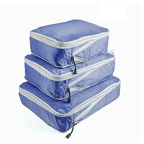 COKEYU Bolsa de Almacenamiento de Ropa 3 En 1 Bolsa De Nylon Impermeable,Bolsa De Almacenamiento De Viaje Comprimido Portátil Packages