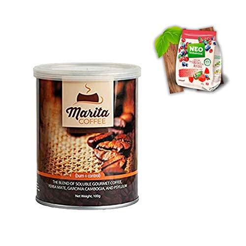 Pack ABALORI Especial Café Marita Burn Control con Physillium 100 GR + Hoja de seguimiento + Pautas (1)
