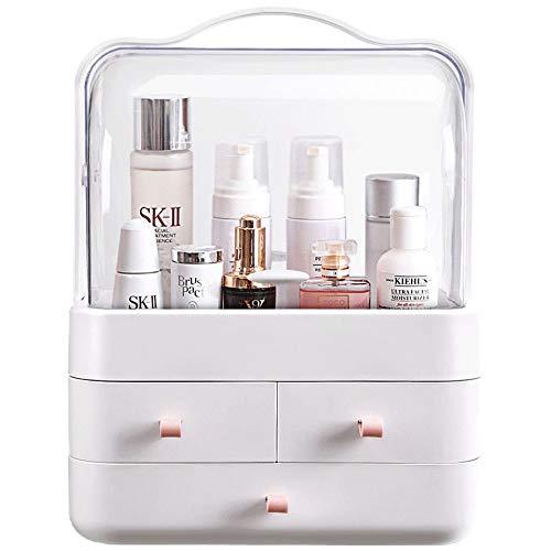 JQ Aufbewahrungsbox für Make-up, kosmetisches Acryl-Make-up und Aufbewahrungsbox für Schmuck,...