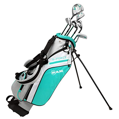 RAM Golf Junior G-Force Girls Right Hand Golf Clubs Set
