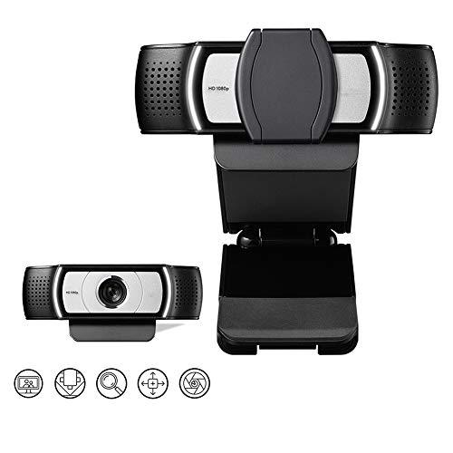 C930e Webcam HD Pro Webcam con Obturador De Privacidad - Pantalla Ancha, Video Llamada Y Grabación, 1080P Transmisión De La Cámara, De Escritorio O Portátil Webcam