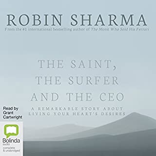 The Saint, the Surfer and the CEO cover art