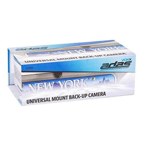 Audiovox Voxx Universal Mount Back-up Camera with Vertical Image Mirroring