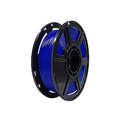 Flashforge PLA 1.75mm 3D Printer Filaments 0.5kg Spool-Dimensional Accuracy +/- 0.05mm for Finder and Adventurer 3 (Blue)