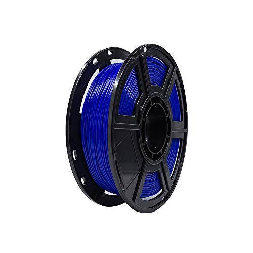 Flashforge PLA 1.75mm 3D Printer Filaments 0.5kg Spool-Dimensional Accuracy +/- 0.05mm for Finder and Creator Pro (Blue)