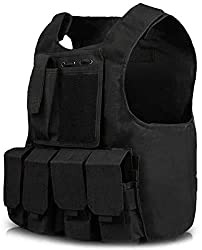 top rated Multi-functional tactical best JN.  Outdoor vest for kids to protect from CS shots. 2021